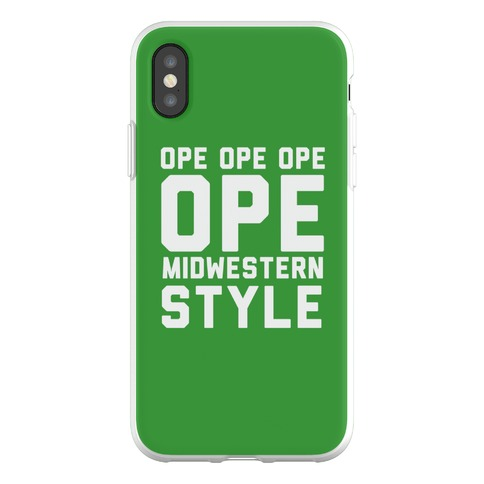 Ope Midwestern Style Phone Flexi-Case