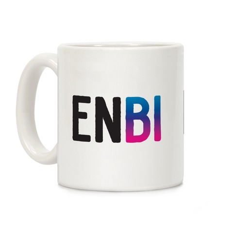 Enbi Bisexual Non-binary Coffee Mug