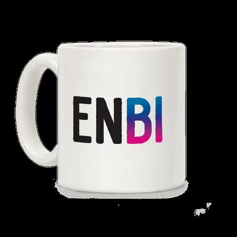 Enbi Bisexual Non-binary Coffee Mug
