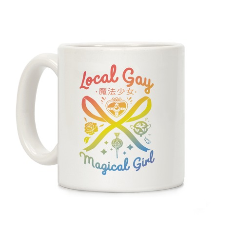 Local Gay Magical Girl Coffee Mug