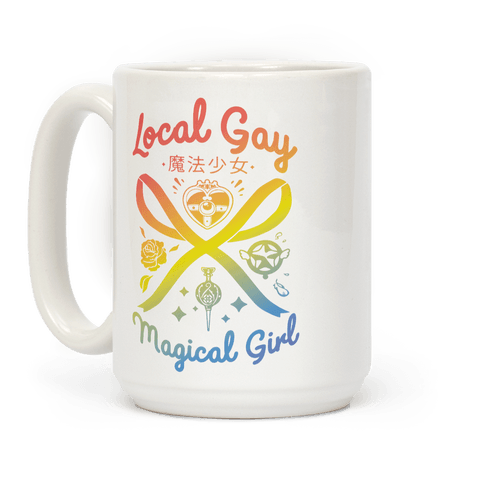 Local Gay Magical Girl Coffee Mug