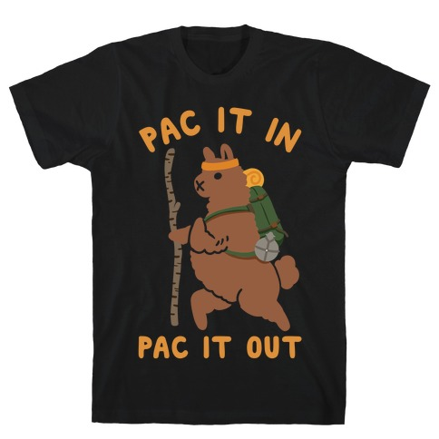 Pac It In Pac It Out Backpacking Alpaca T-Shirt