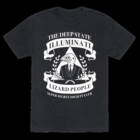 Super Secret Society Club  Mens T-Shirt
