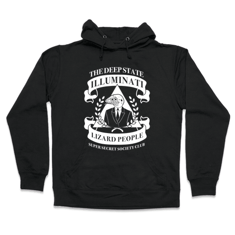 Super Secret Society Club Hooded Sweatshirt