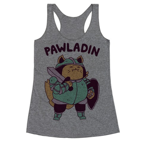 Pawladin Racerback Tank Top