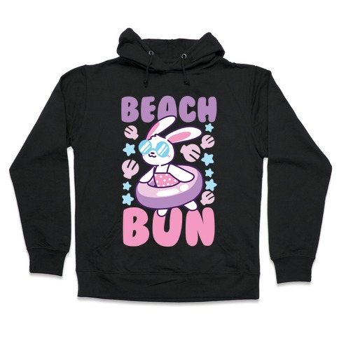 Beach Bun Hooded Sweatshirt