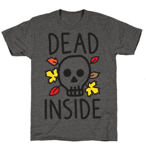 Dead Inside Autumn Skull T-Shirt