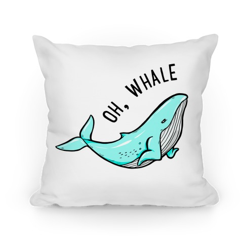Oh Whale Pillow