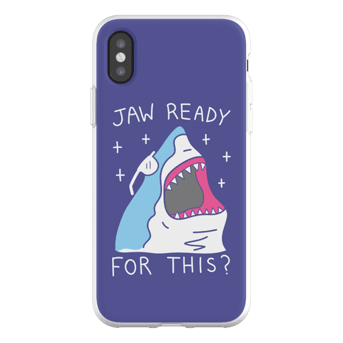 Jaw Ready For This? Shark Phone Flexi-Case