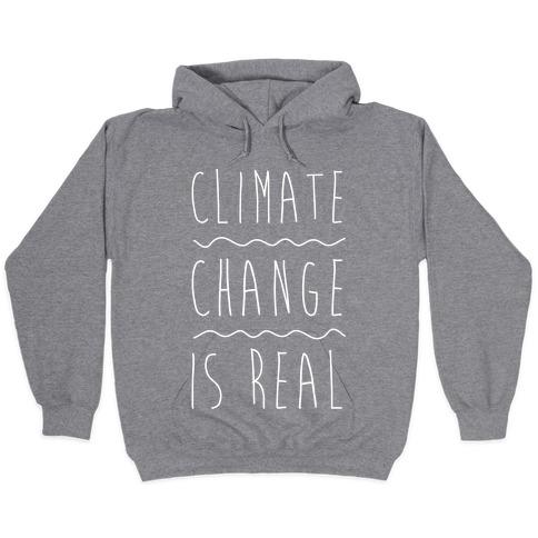 Climate Change Unisex Sweatshirt Black