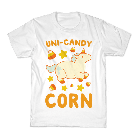 Uni-Candy Corn Kids T-Shirt