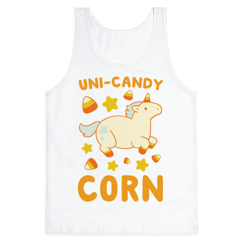Uni-Candy Corn Tank Top