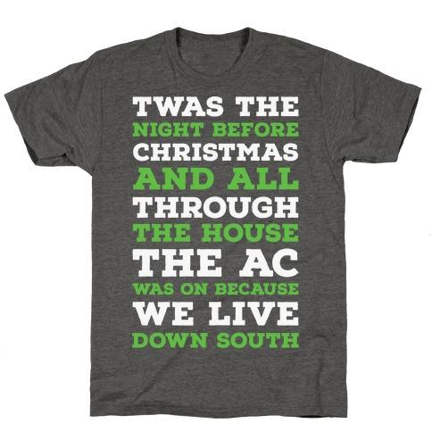 Twas The Night Before Christmas T-Shirt