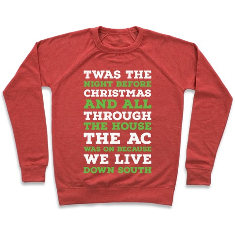 Twas The Night Before Christmas  Pullover