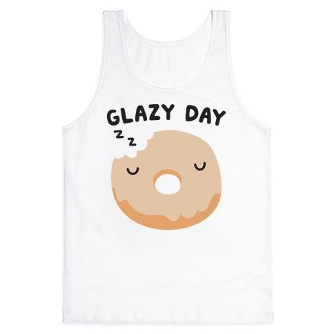 Glazy Day Donut Tank Top