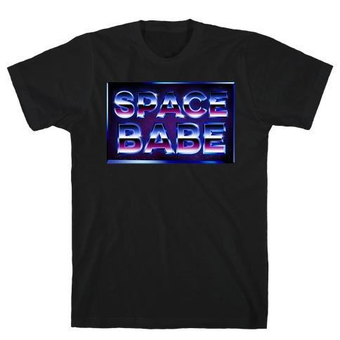 Chrome Space Babe T-Shirt