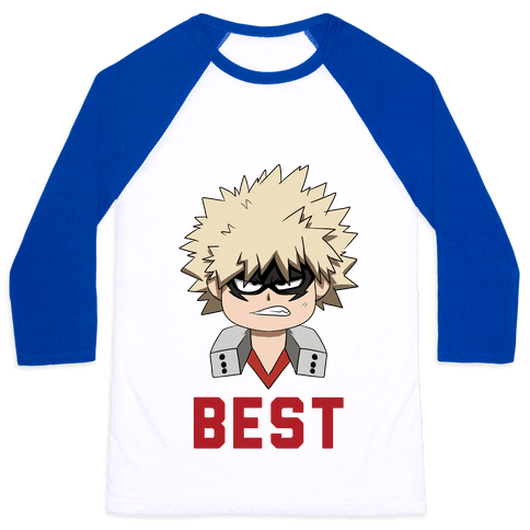 Best Friends Bakugo Baseball Tee