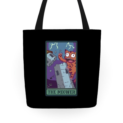 The Meower Tarot Card Tote