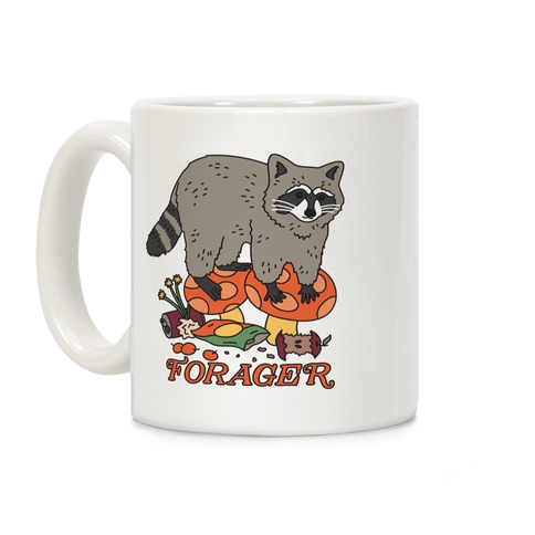 Forager Raccoon Coffee Mug