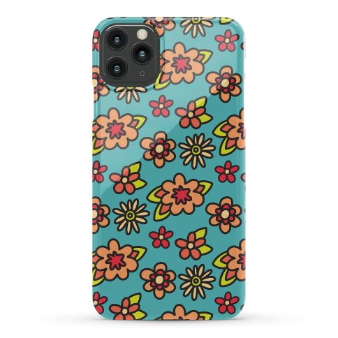 70's Flower Pattern Phone Case