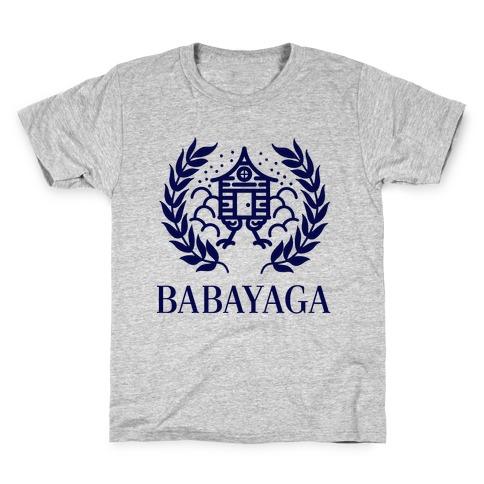 Baba Yaga Balenciaga Parody Kids T-Shirt
