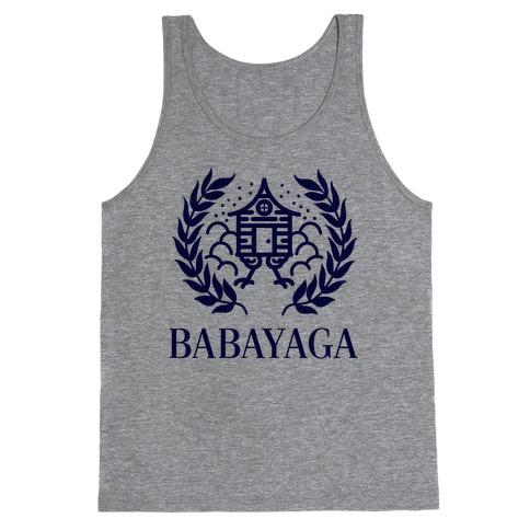 Baba Yaga Balenciaga Parody Tank Top