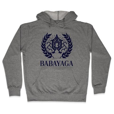 Baba Yaga Balenciaga Parody Hooded Sweatshirt
