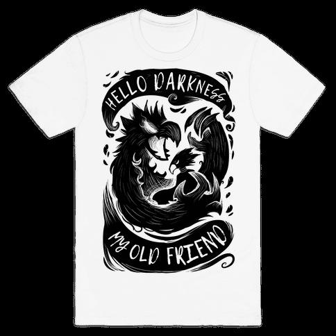 Tokoyami Hello Darkness My Old Friend Mens T-Shirt