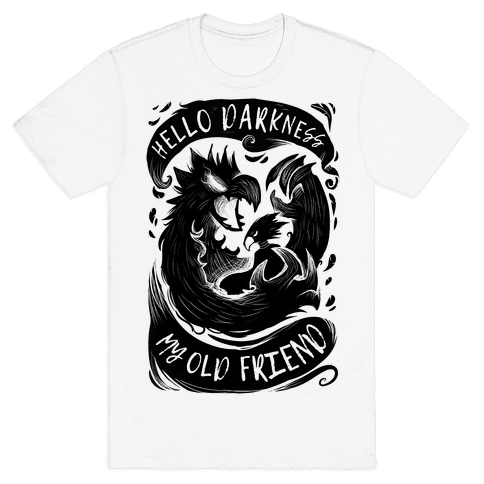Takoyami Hello Darkness My Old Friend Mens T-Shirt