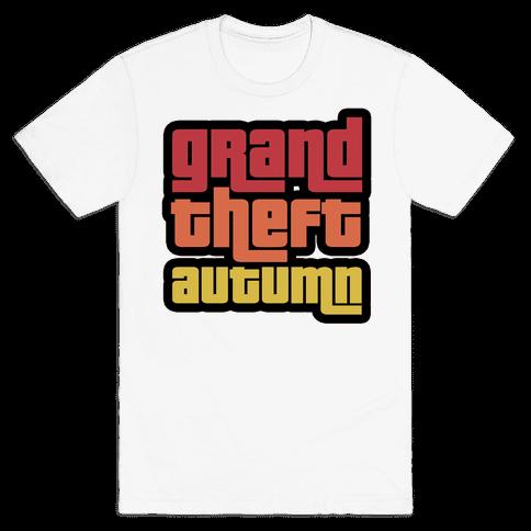 Grand Theft Autumn Mens/Unisex T-Shirt