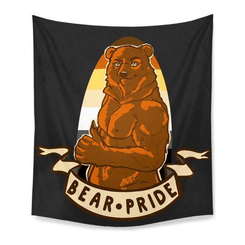 Bear Pride Tapestry
