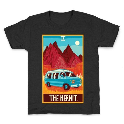 The Hermit Van Life Tarot Kids T-Shirt