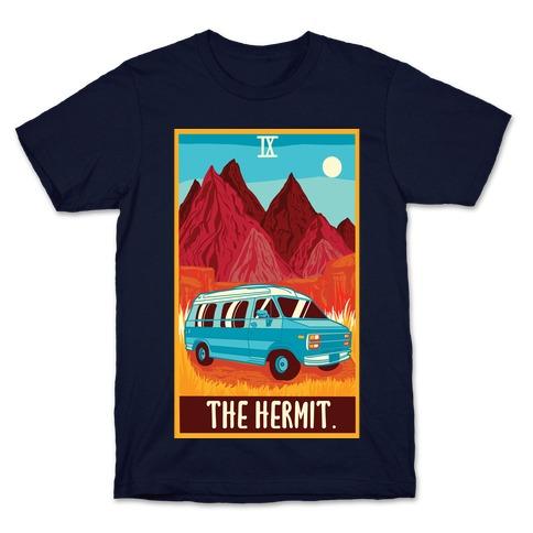 The Hermit Van Life Tarot T-Shirt