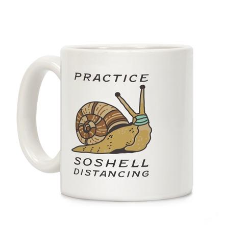 Practice SoShell Distancing Coffee Mug