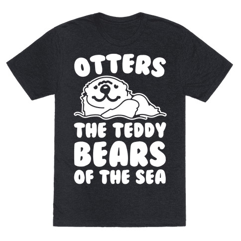 Otters The Teddy Bears of The Sea White Print