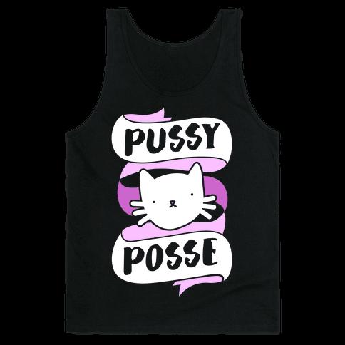 Pussy Posse Tank Top