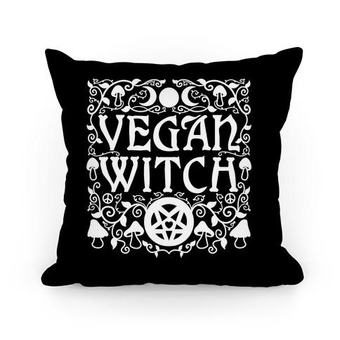 Vegan Witch Pillow