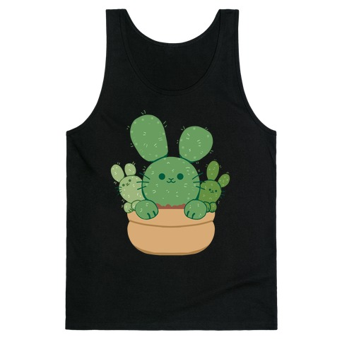 Bunny Ear Cactus Tank Top