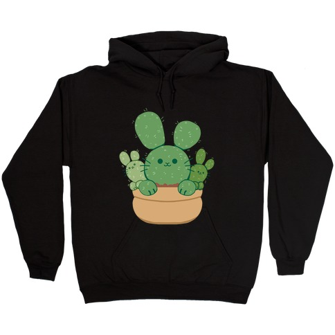 Bunny Ear Cactus Hooded Sweatshirt
