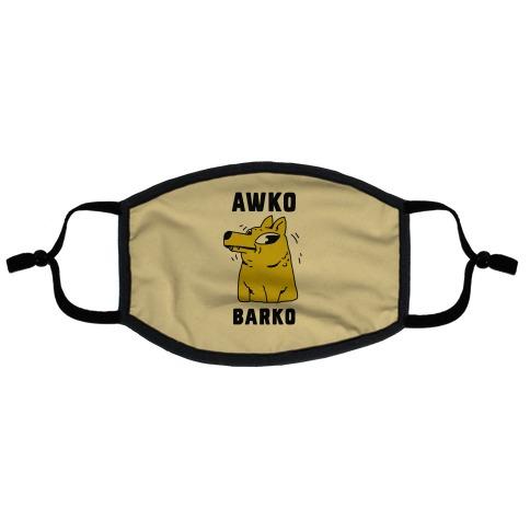 Awko Barko Flat Face Mask