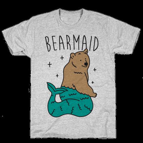 Bearmaid Mens T-Shirt