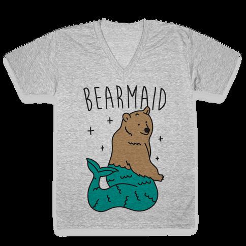 Bearmaid V-Neck Tee Shirt
