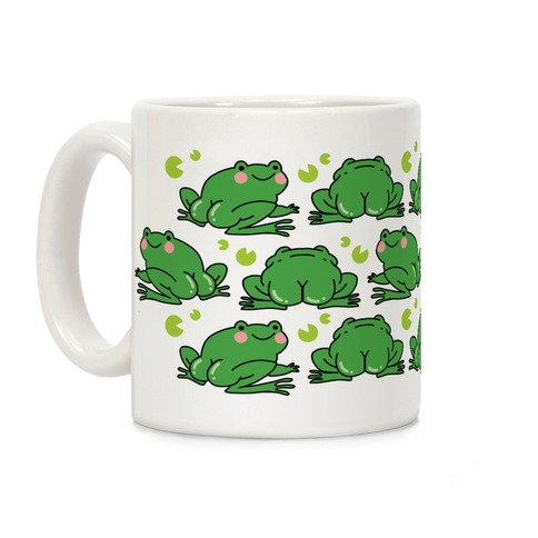 Frog Butt Coffee Mug