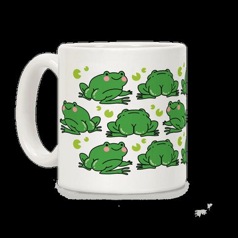 Frog Butt Coffee Mug