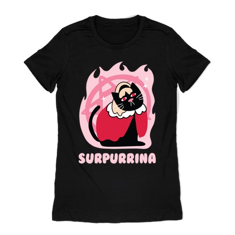 Surpurrina Womens T-Shirt