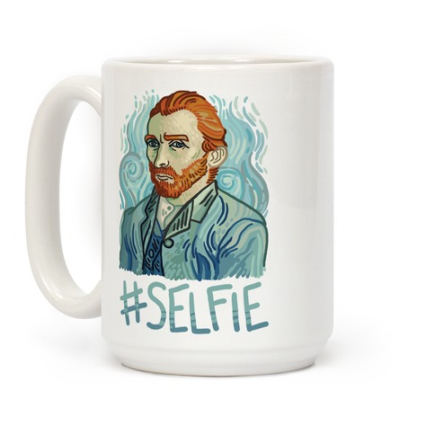 Van Gogh Selfie Coffee Mug