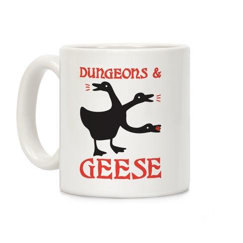 Dungeons & Geese Coffee Mug