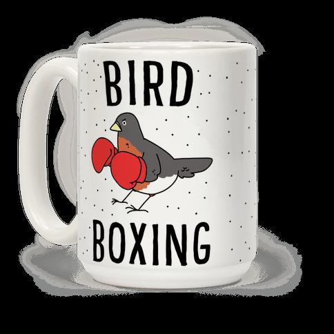 Bird Boxing Coffee Mug