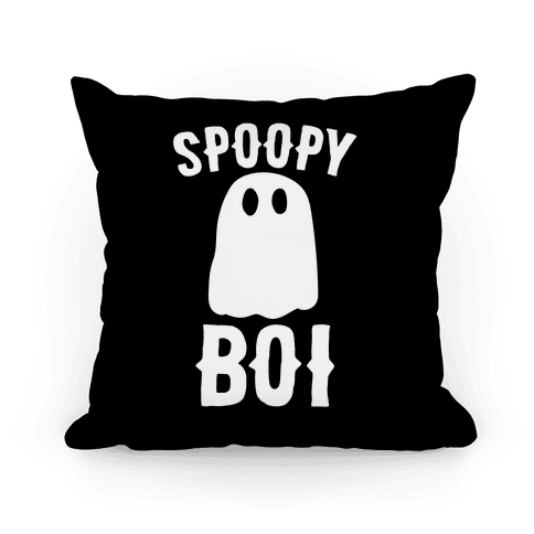 Spoopy Boi Pillow