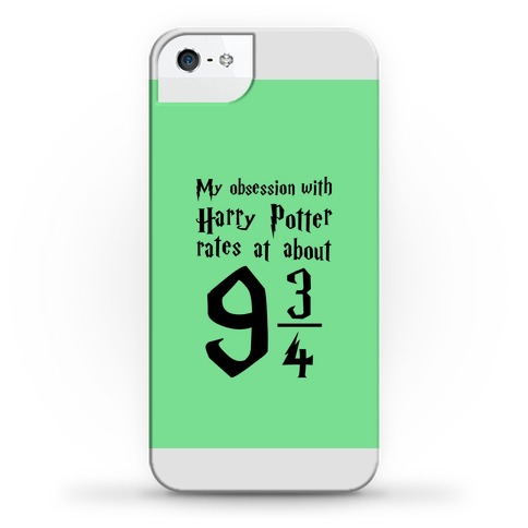 Harry Potter Obsession Phone Case